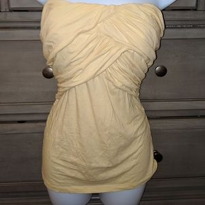 Bebe  strapless top size M